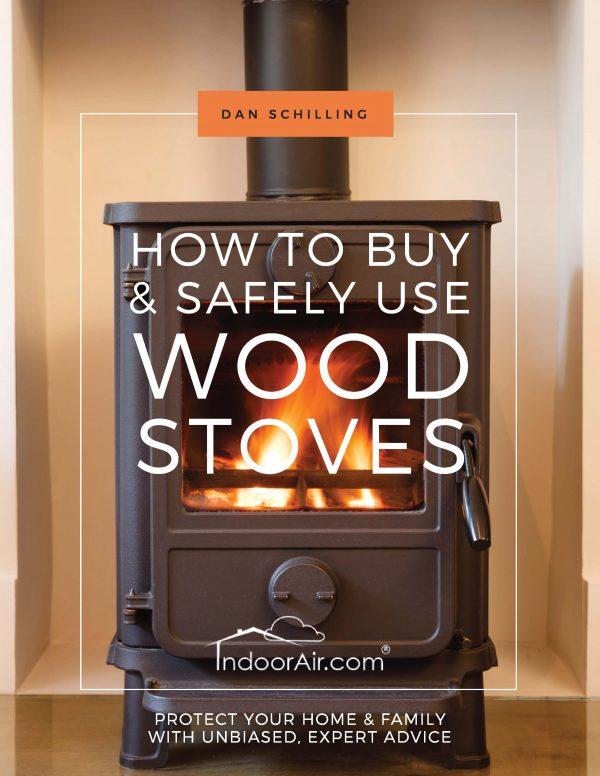 Photo of book cover for How to Buy and Safely Use Woodstoves to learn about wood burning stove concerns